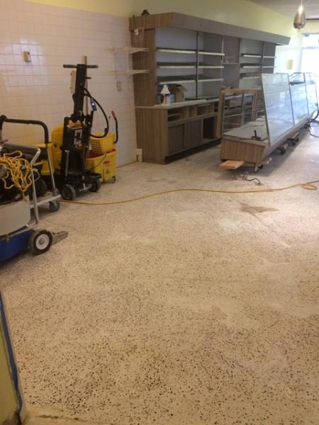 Terrazzo Floor Restoration Work